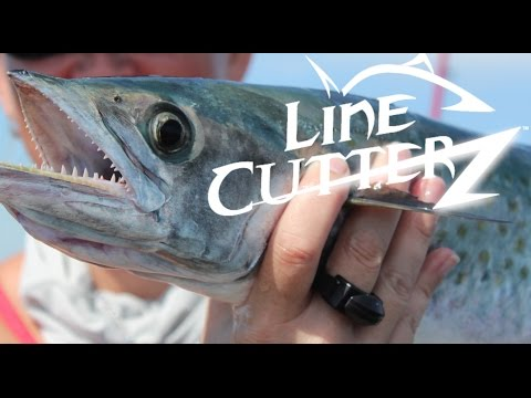 KAYAK FISHING - How to use the Line Cutterz Ring