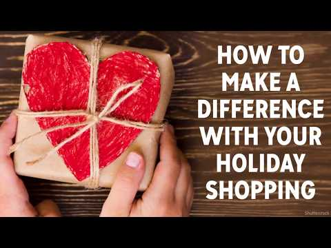 Gifts that Give Back: How to shop and help charity