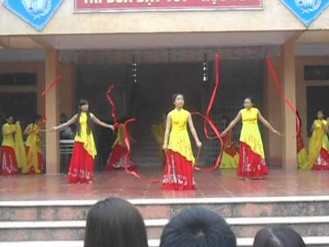 Người Thầy- Múa lụa- 8A- Trường Trung học Cơ Sở Thach Thất
