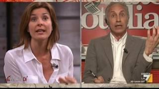 Travaglio vs Moretti, Fusani: DiMartedi (16 maggio 2017)