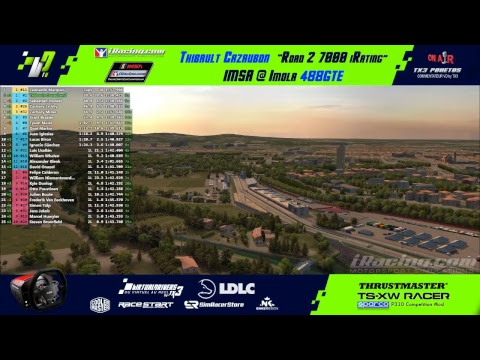 Road to 7000 iRating - Thibault Cazaubon - IMSA F488GTE @ Imola