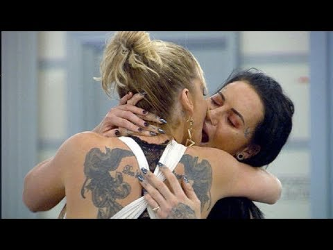VIP Big Brother: Sarah Harding and Jemma Lucy share X-RATED kiss amid uncivilized diversion