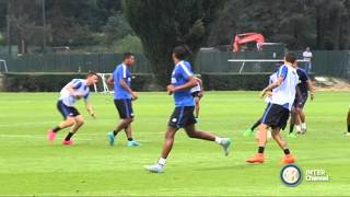 ALLENAMENTO INTER REAL AUDIO 12 09 2015
