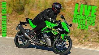 Live - Kawasaki Ninja 125 oraz Z125 - jazdy testowe, Hiszpania, Malaga, przegląd materiałów - Na żywo