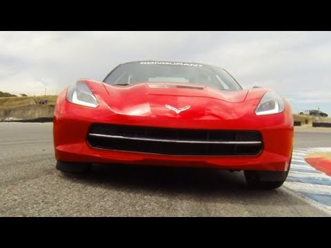 The One With The 2014 Corvette Stingray at Laguna Seca! - World's Fastest Car Show Ep. 3.15