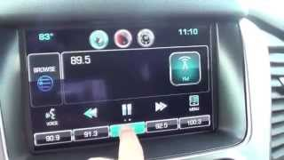 How To Save Radio Station Favorites in A 2015 Chevrolet Tahoe