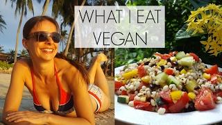WHAT I EAT IN A DAY VEGAN | EASY VEGAN FOOD!