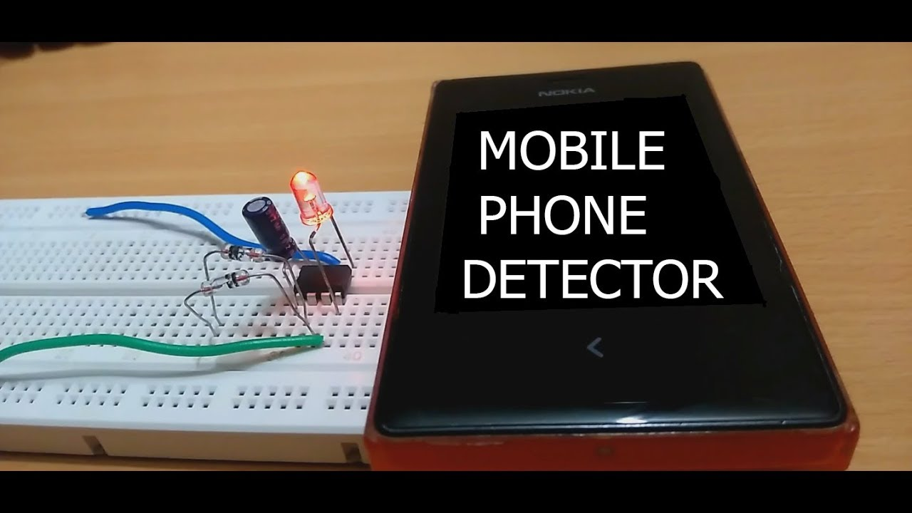 Mobile Phone Detector By Using Op Amp Youtube Circuit