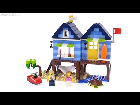 LEGO Creator Beachside Vacation 3-in-1 review 🌴 31063