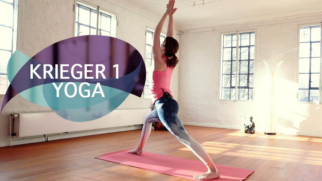 Yoga Krieger 1 Tutorial - Virabhadrasana 1 // FlexibleFit Yoga