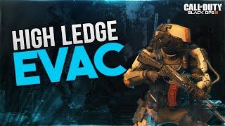 COD BO3 Glitches - Secret Spot on Evac - High Ledge Glitch (Black Ops 3 Multiplayer Glitches)