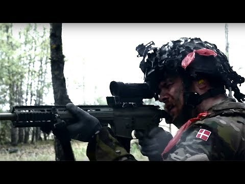Danish forces prepare to join NATO's spearhead force, the VJTF
