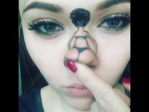 Nose twerking . Best nose twerking