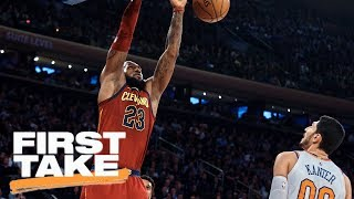 First Take reacts to the Cavaliers' 104-101 victory over the Knicks | First Take | ESPN