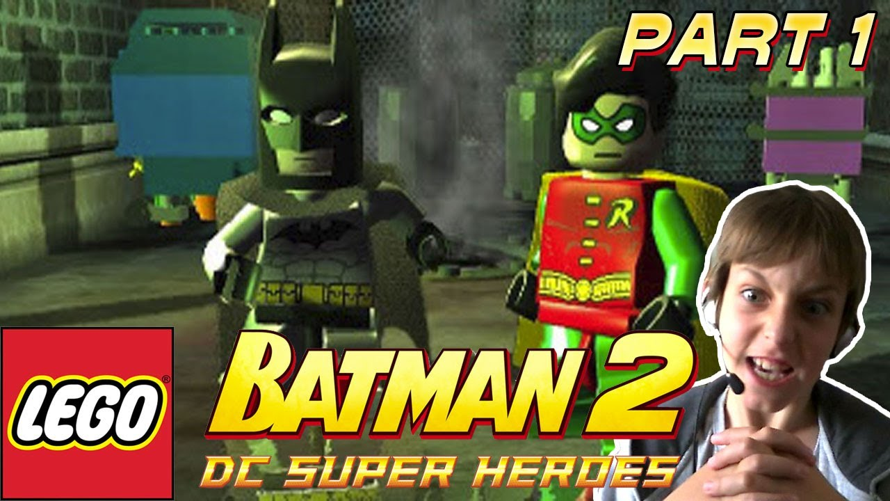 OMG IT'S BATMAN | Lego Batman 2 level 1 - YouTube