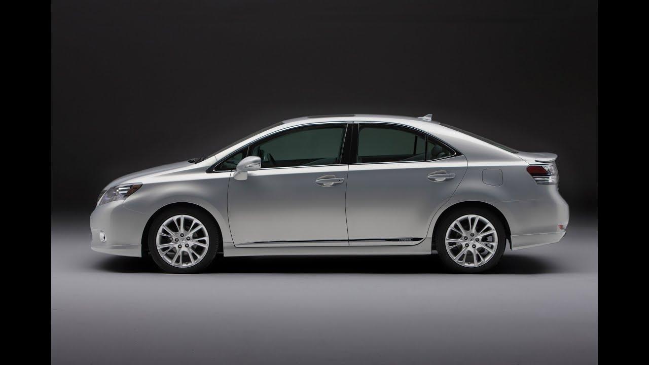 cars speed top lexus f ls hybrid sedan