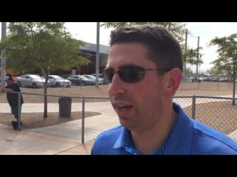 Indians' GM Mike Chernoff on Michael Brantley's minor league debut