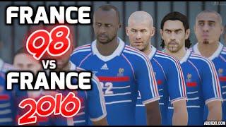 "[HD] France 1998 vs France 2016 - Pour mon cher abonné ""Dylan Robin"" Fifa 16"