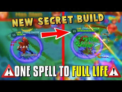 ALPHA GLITCH BUILD ?! THIS LIFESTEAL IS UNREAL ! Mobile Legends