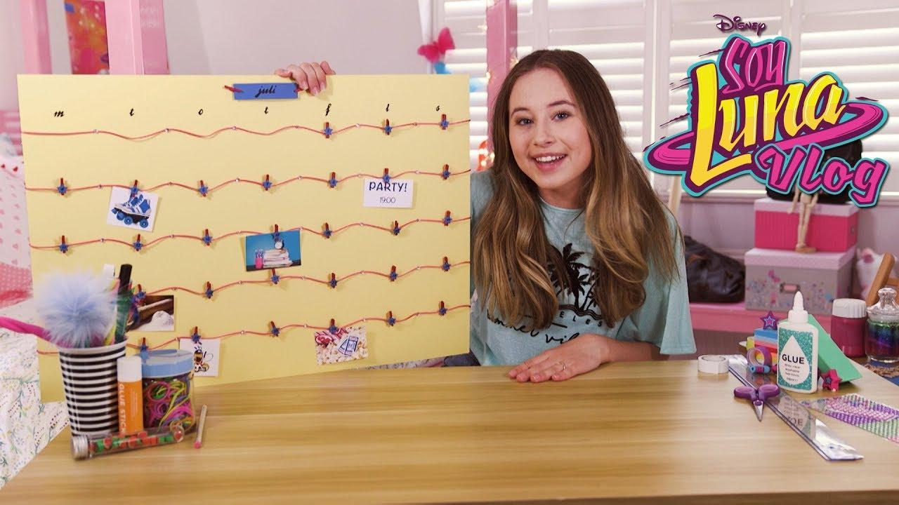 Download Soy Luna Vlog #5: Gör en egen kalender - Disney Channel Sverige