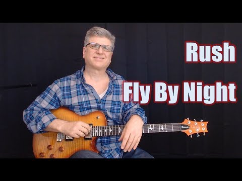 Fly By Night Guitar Lesson | Note For Note Guitar Tutorial | Rush | With TABS