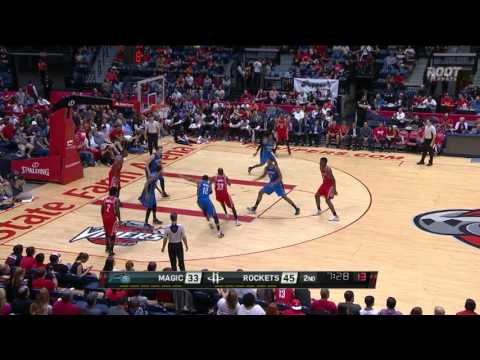 Corey Brewer Leads Rockets with 20 Points