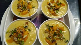 MANGO PHIRNI  | healthy and tasty home - made recipe |
