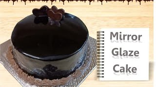 Chocolate mirror glaze cake in convection ovenchocolate cake in Tamil soft and moist chocolate cak