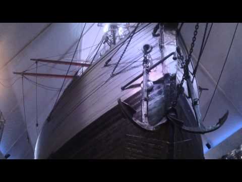 Polar Ship Fram at the Fram Museum Bygdoy Oslo Norway