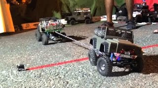 RC Tug of war - Axial SCX10 Cars Challenge
