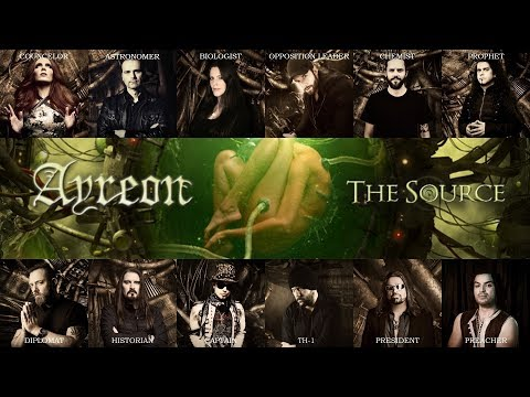 Ayreon - The Source (Album Lyric Video)