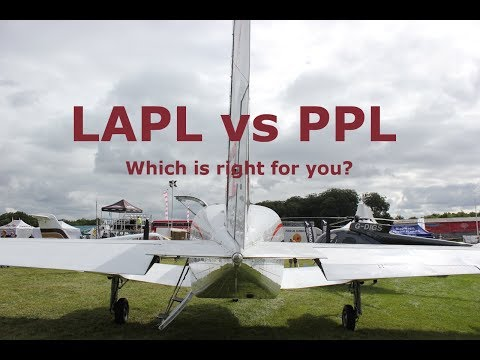 LAPL vs PPL - Light Aircraft & Private Pilot's Licence