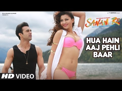 HUA HAIN AAJ PEHLI BAAR (Full Video Song HD ) With ENGLISH Lyrics | SANAM RE (2016) | T-Series Music