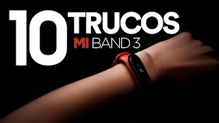 10 TRUCOS para tu Mi Band 3 | Tips & Tricks