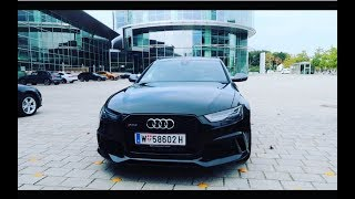 Collecting MY 2018 Audi RS6 Performance in Ingolstadt | Daniel Cronin