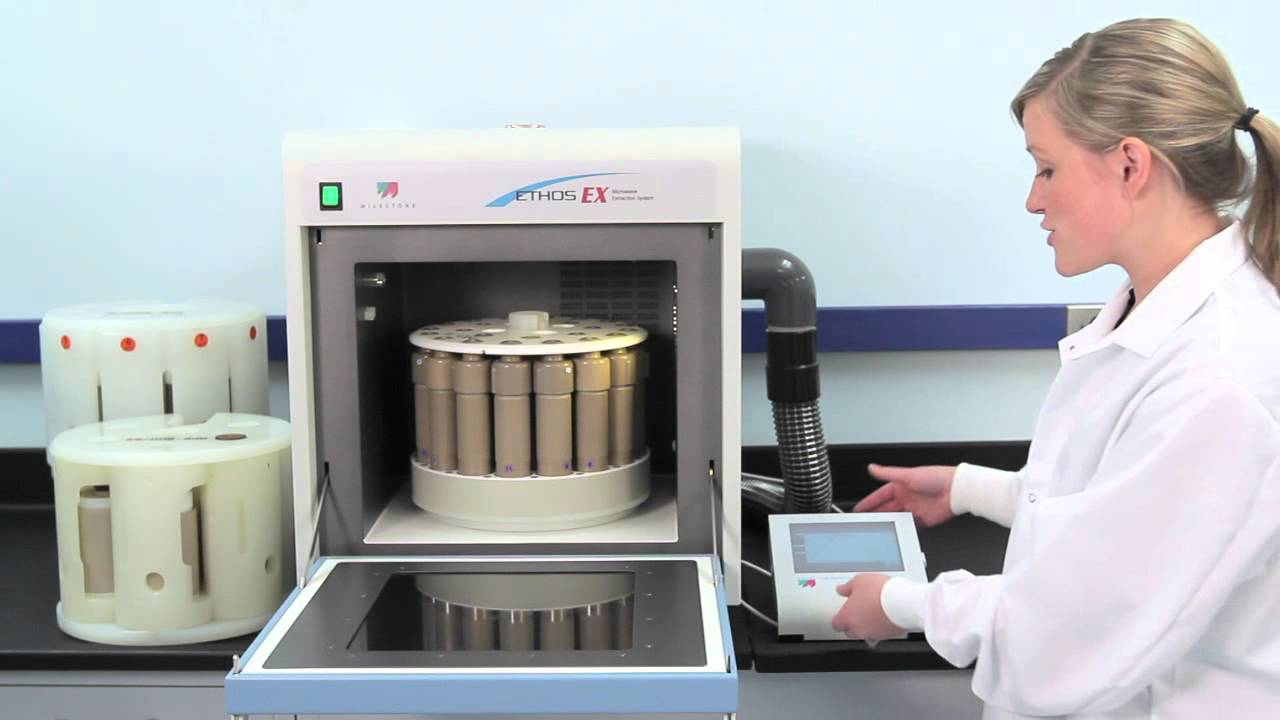 ethos ex microwave-assisted extraction system