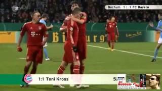 VfL Bochum - FC Bayern 1:2 (1:0) DFB-Pokal 3.Runde (de)