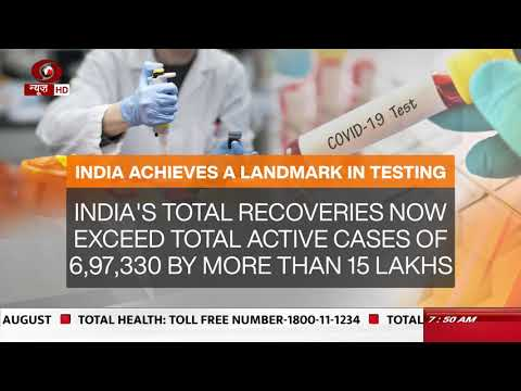 Covid-19 : Recovery rate rises to nearly 75% in India