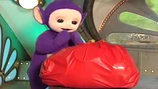 Tinky Winky Bag Is too Full! - Teletubbies English Episode - Picking Chillies (S14E27)