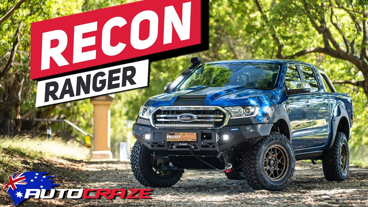Recon Ranger 2019 Crazy Modified 4x4 Ford Ranger Build