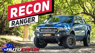 RECON RANGER // 2019 CRAZY MODIFIED 4x4 FORD RANGER BUILD