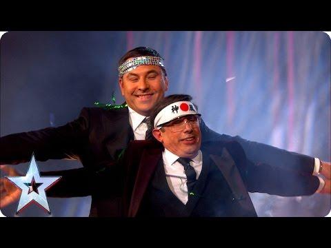 Christian Lee Recruits David's Help For His Latest Trick | Semi-Final 4 | Britain's Got Talent 2016