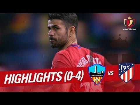 Resumen de Lleida Esportiu vs Atlético de Madrid (0-4)