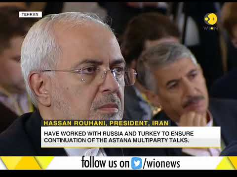 Iran, Russia vow to end Syrian crisis