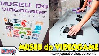 Museu do Videogame Itinerante em São Paulo (Shopping SP Market) - 250 CONSOLES RAROS E NOVOS