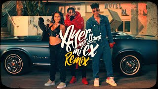 KHEA, Natti Natasha, Prince Royce - Ayer Me Llamó Mi Ex Remix ft. Lenny Santos (Official Video)