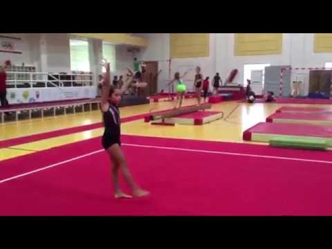Alia Salama -Week 5 Gymnast of the Week - at Dubai Olympic Gymnastics Club