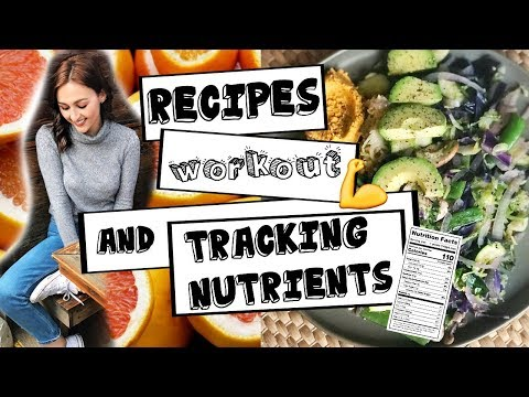 Healthy WHAT I ATE TODAY + Tracking Nutrients