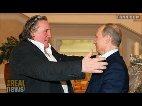 Putin Promotes Russia as Tax Haven - Gives Depardieu Citizenship to Flee French Income Tax
