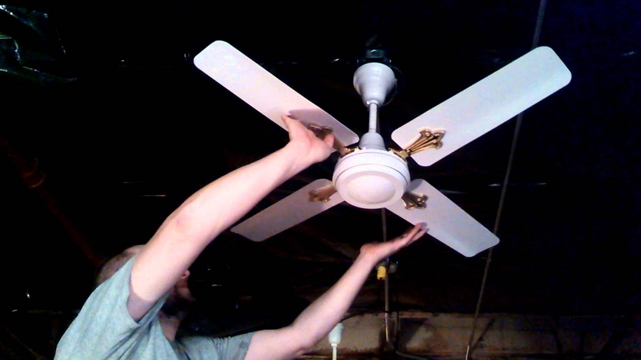 Crompton Greaves Encon 42 Four Blade Industrial Commercial Ceiling Fan